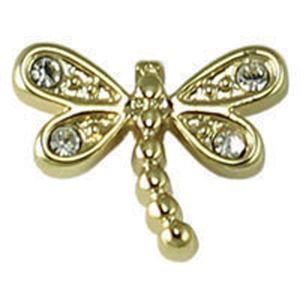Picture of Gold Dragonfly Charm