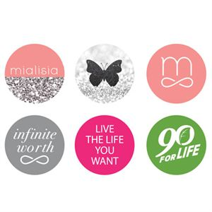 Picture of Logos Medium Locket Backdrops